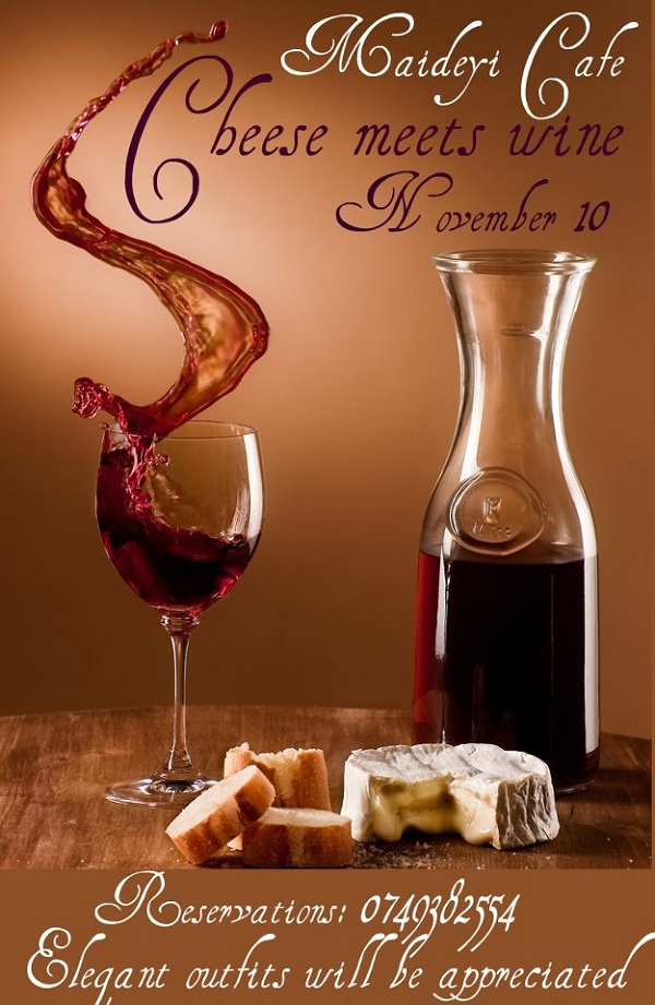 Cheese meets Wine/ 10 noiembrie afis