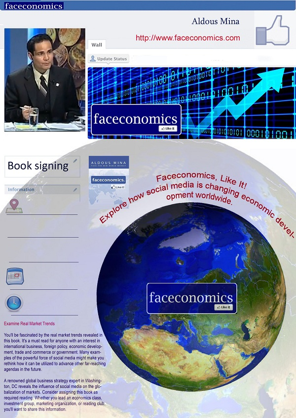 """Faceconomics, Like it!"", de Aldous Mina"