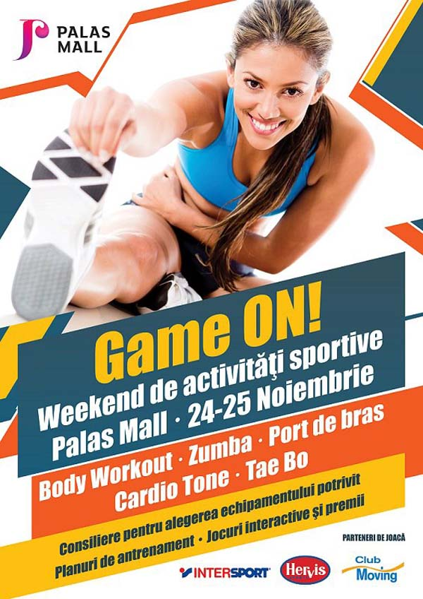 game on_weekend sportiv la palas mall