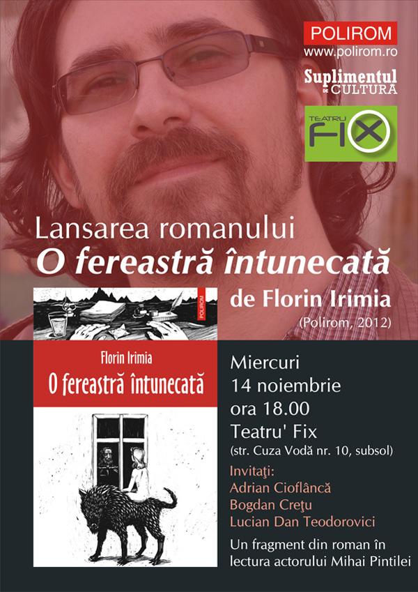 lansare o fereastra intunecata_florin irimia