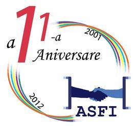Asociația Studenților Francofoni din Iași la cea de-a XI-a aniversare logo ASFI