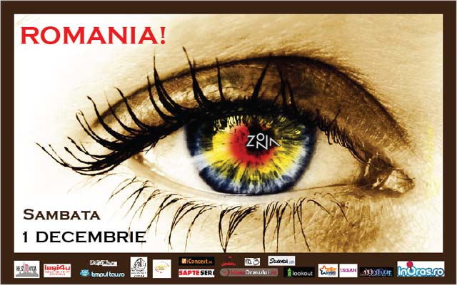 Zona - Romania, sambata, 1 decembrie