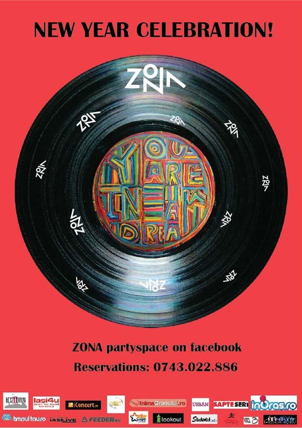 Revelion 2013 - Zona Partyspace