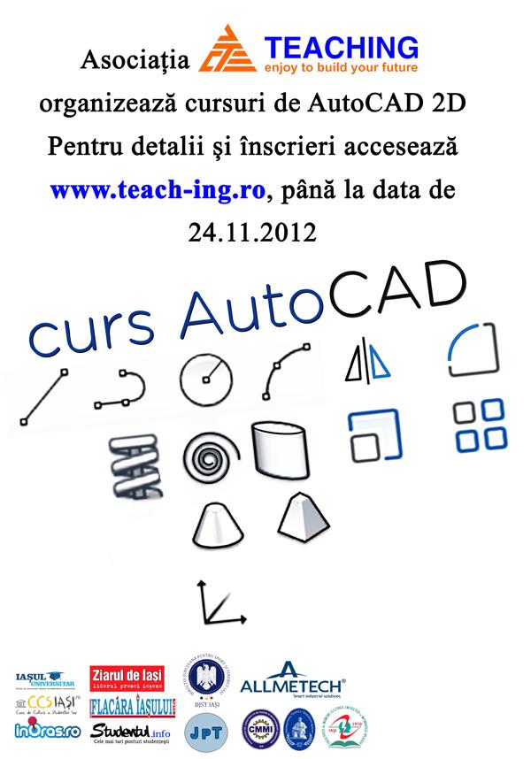 teaching-cursuri autocad