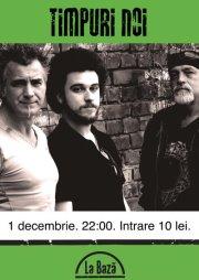 Concert Timpuri Noi/ 1 decembrie la baza afis
