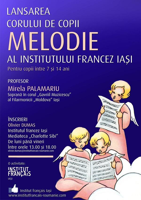 Incepe selectia pentru primul cor de copii al Institutului francez Iasi