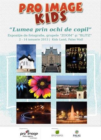 """Expoziția de fotografie """"LUMEA PRIN OCHI DE COPIL""""/ 2-14 ianuarie afis"""