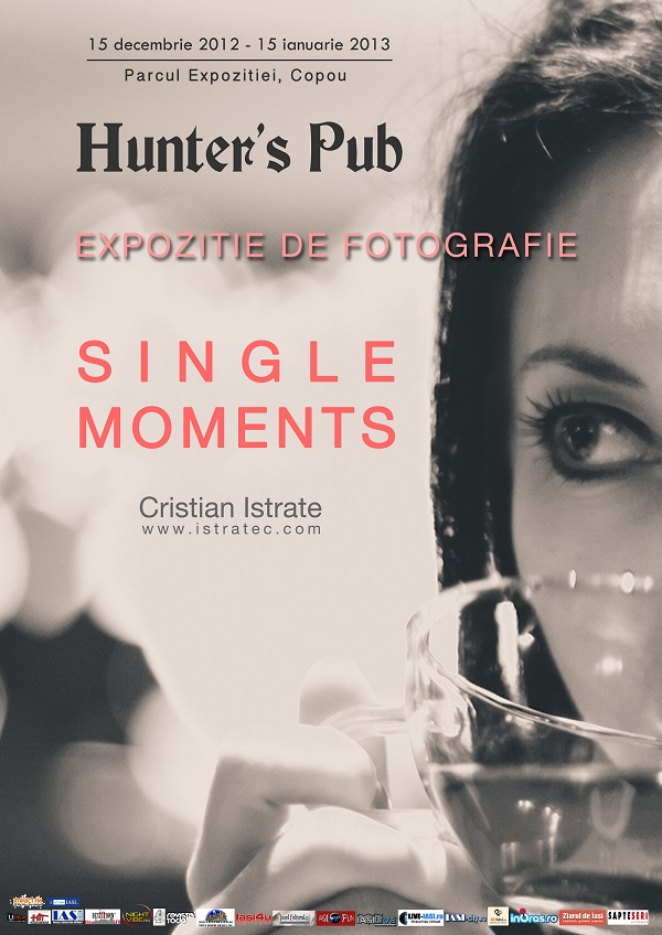 "Expozitia de fotografie ""Single Moments""/ 15 decembrie 2012 - 15 ianuarie 2013 afis"
