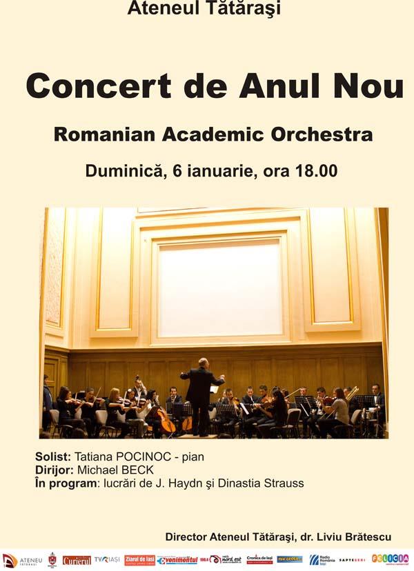 Concert Anul Nou_Ateneul Tatarasi