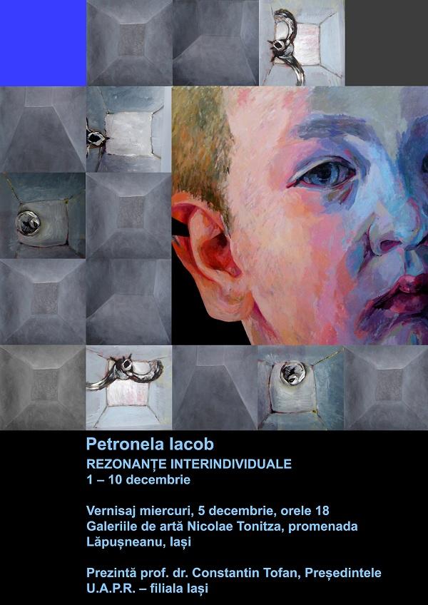 "Expozitia ""Rezonante Interindividuale"" - Petronela Iacob/ 1 - 10 decembrie"