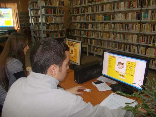 eticheta se invata in biblioteca