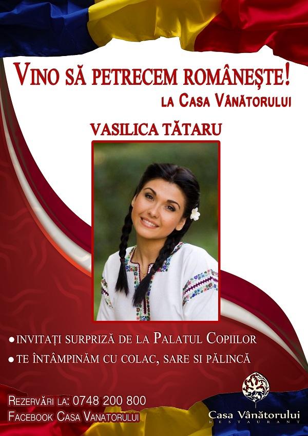 VINO SA PETRECEM ROMANESTE/ 24 ianuarie afis iasi