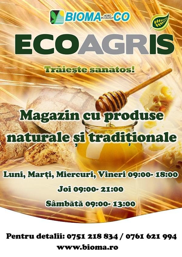 Targul Ecoagris afis iasi
