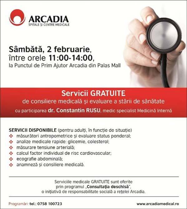 arcadia-servicii gratuite