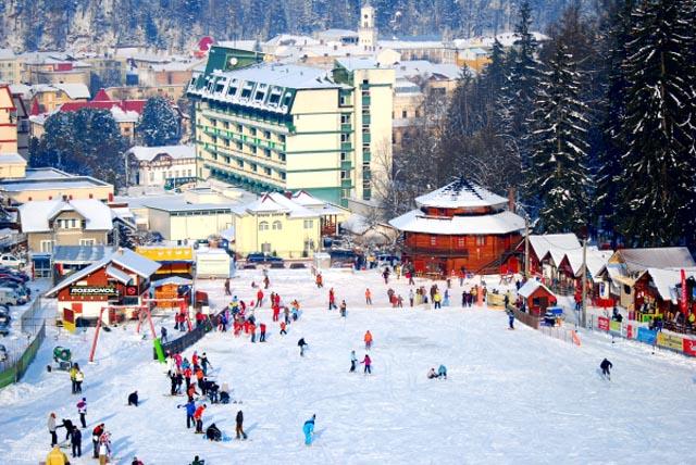 Partia de schi Parc - Vatra Dornei