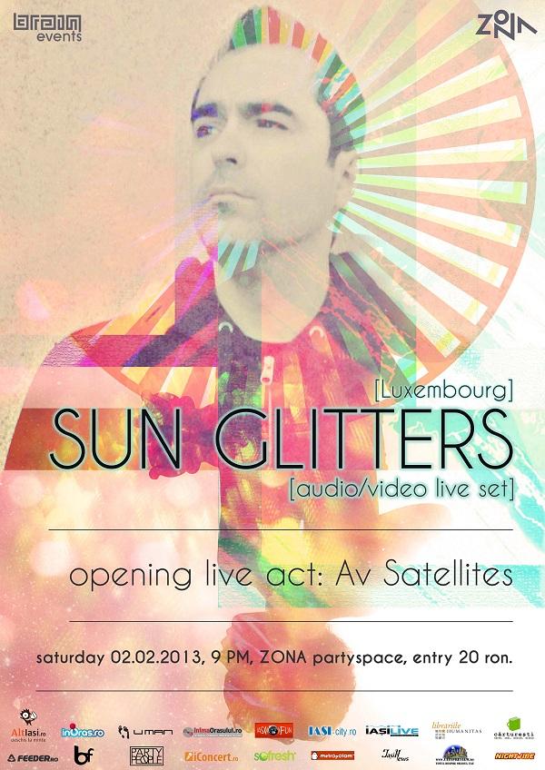 Sun Glitters își aduce muzica și vizualurile de la Luxemburg la Iași pe 2 februarie afis iasi