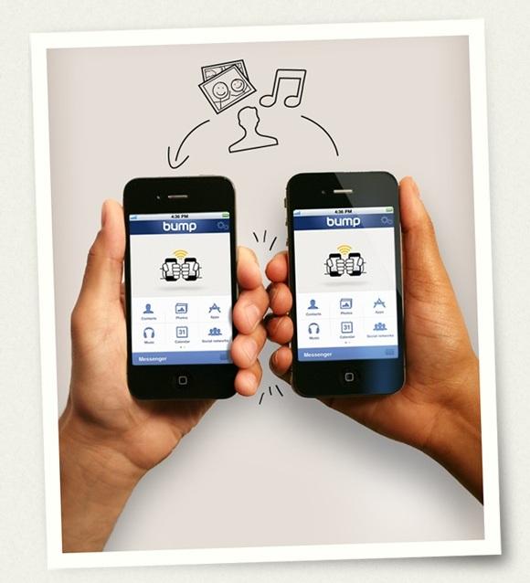Aplicatii pentru telefon ce sporesc productivitatea bump app gadget my love www.iasifun.ro
