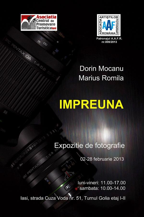"""Expozitia """"Împreună"""" in Turnul de la Golia/ 2 - 28 februarie 2013 afis iasi www.iasifun.ro"""