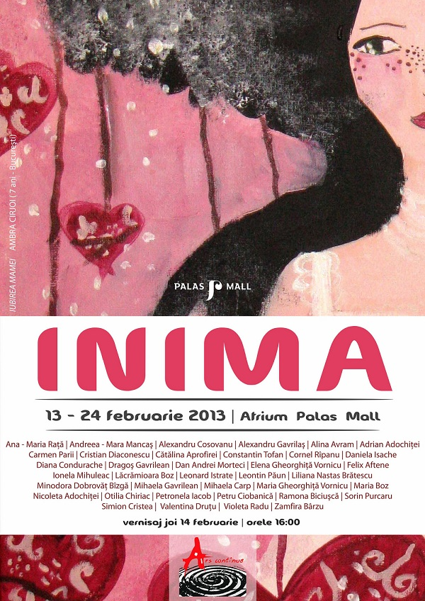 "Expozitia ""Inima"" la Palas/ 13-24 februarie afis iasi www.iasifun.ro"
