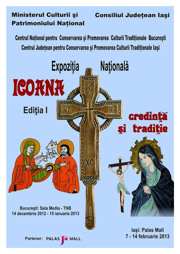 "Expozitiei Nationale ""Icoana - credinta si traditie"", editia I afia iasi www.iasifun.ro"