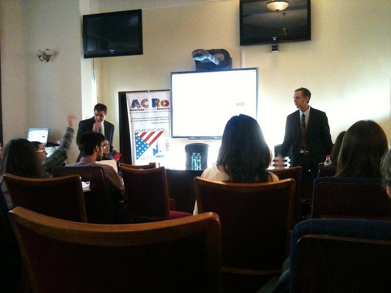 PRIME Iasi organizeaza cea de-a treia editie PR OUTLooK Bruce Kleiner Social Media within the U.S. Embassy Jason Khile