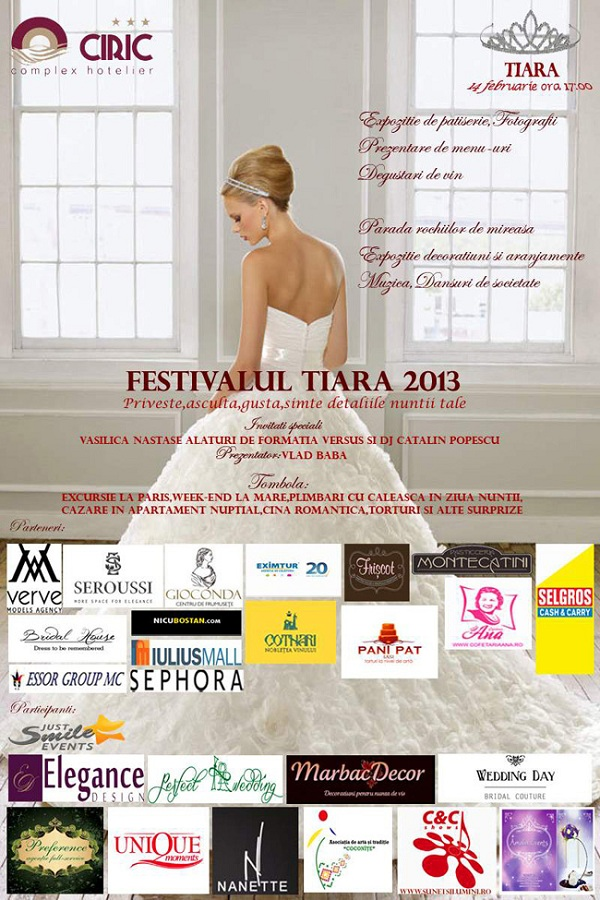 Festivalul TIARA 2013, la Ciric afis iasi www.iasifun.ro