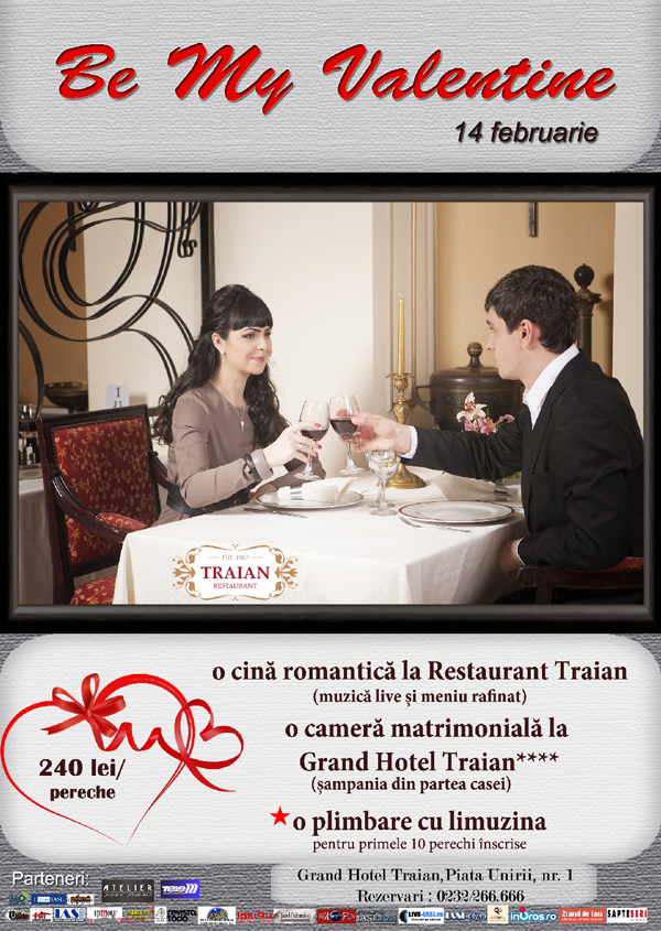 be my valentine - Grand Hotel Traian
