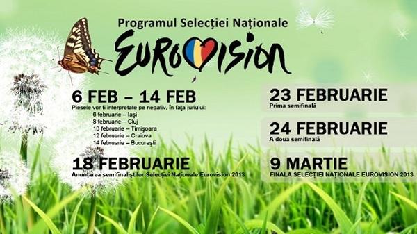 preselectia pentru Eurovision 2013 program national iasi www.iasifun.ro
