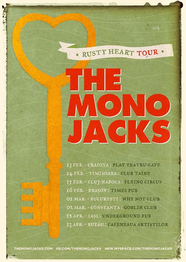 rusty heart tour_the mono jacks
