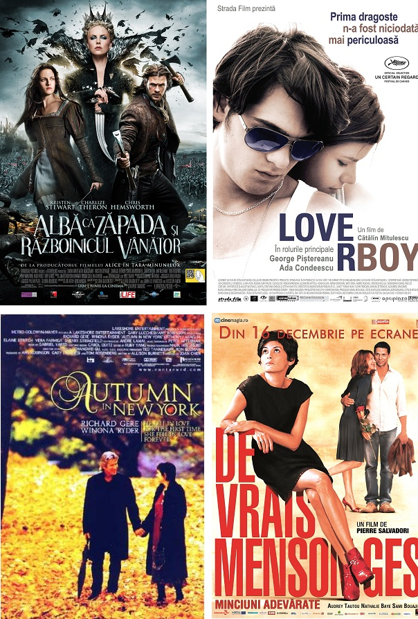 Program special la Cinema Victoria de Valentine's Day iasi afise www.iasifun.ro