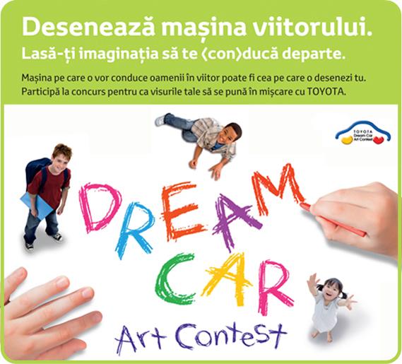 CONCURS pentru elevi: Deseneaza masina viitorului afis iasi www.iasifun.ro toyota