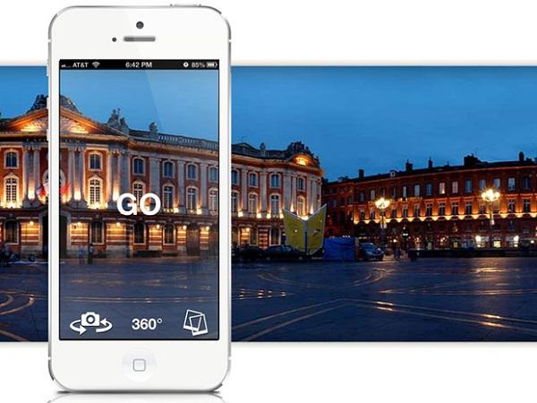 Cum facem fotografii panoramice cu telefonul mobil - Aplicatia Cycloramic iOS