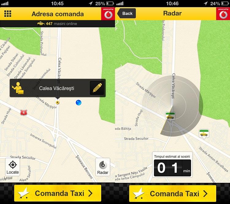 Aplicaţii cu care poţi chema un taxi în Iaşi / Star Taxi