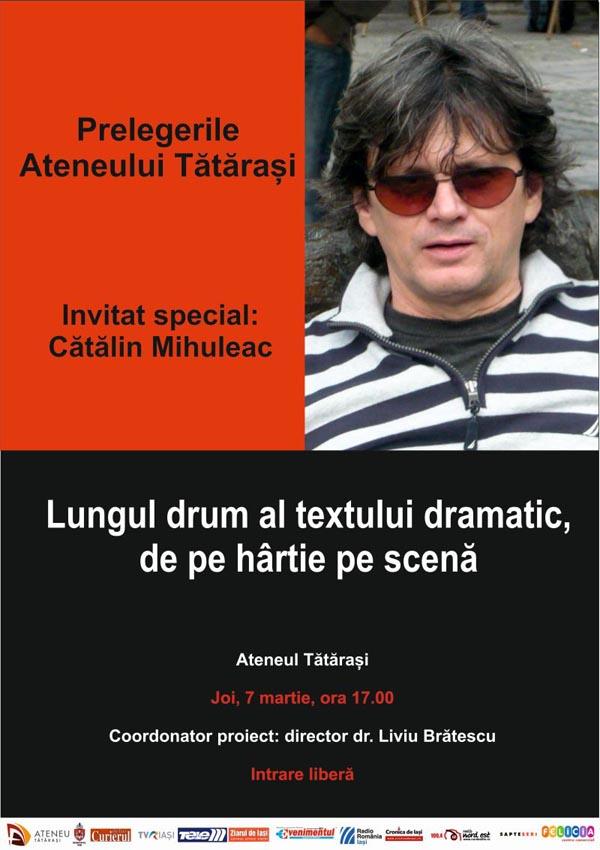 Afis Catalin Mihuleac 2013