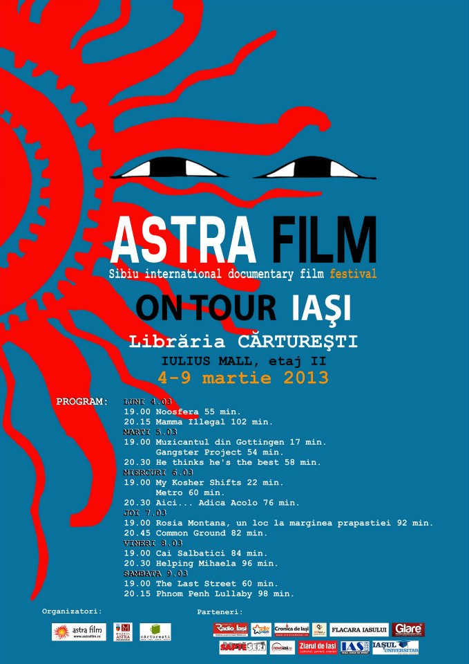 Astra Film On Tour - Best Of , 4-9 martie afis Iasi