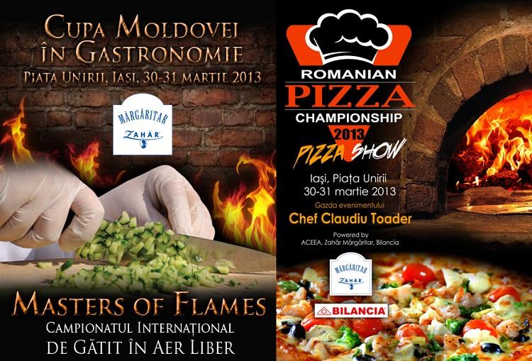 Cupa Moldovei in gastronomie 2013/ Afise Iasi