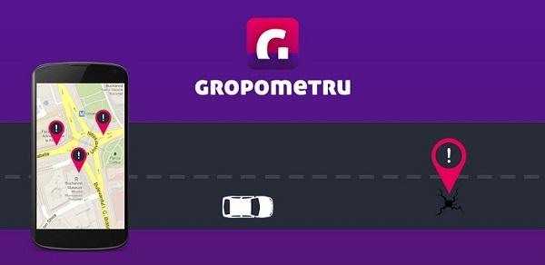 Gropometru, aplicația gropilor din România/ Gadget, my love