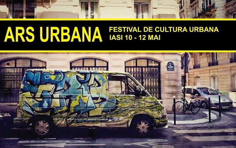 Festivalul Ars Urbana 2013/ Afis iasi