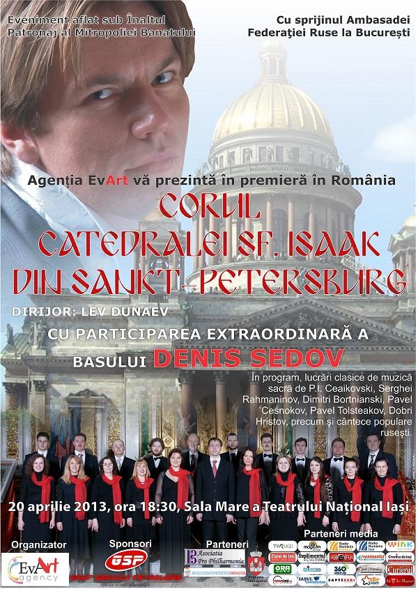 """O """"Cântare a cântărilor"""" înaintea Sfintelor Sărbători de Paști/ afis Opera Iasi"""