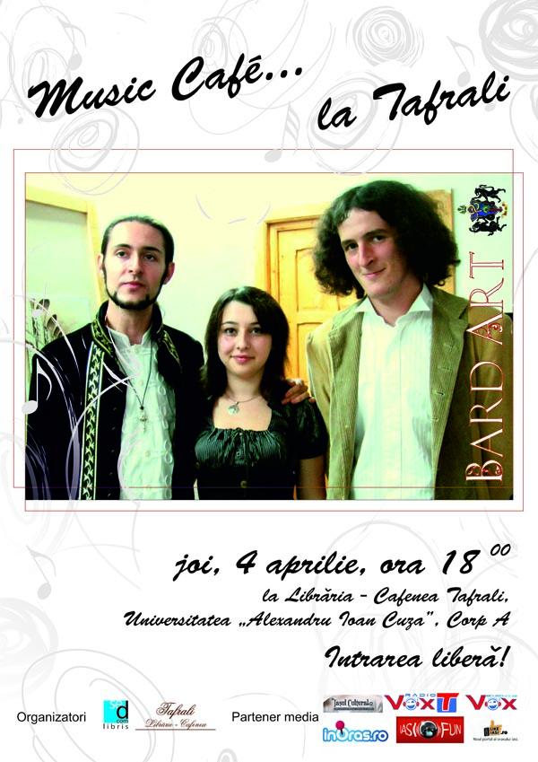 Afis A3 Music Bard Art 4 aprilie
