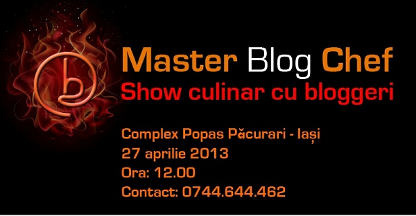 Master Blog Chef la Complex Popas Păcurari/ Afis Iasi