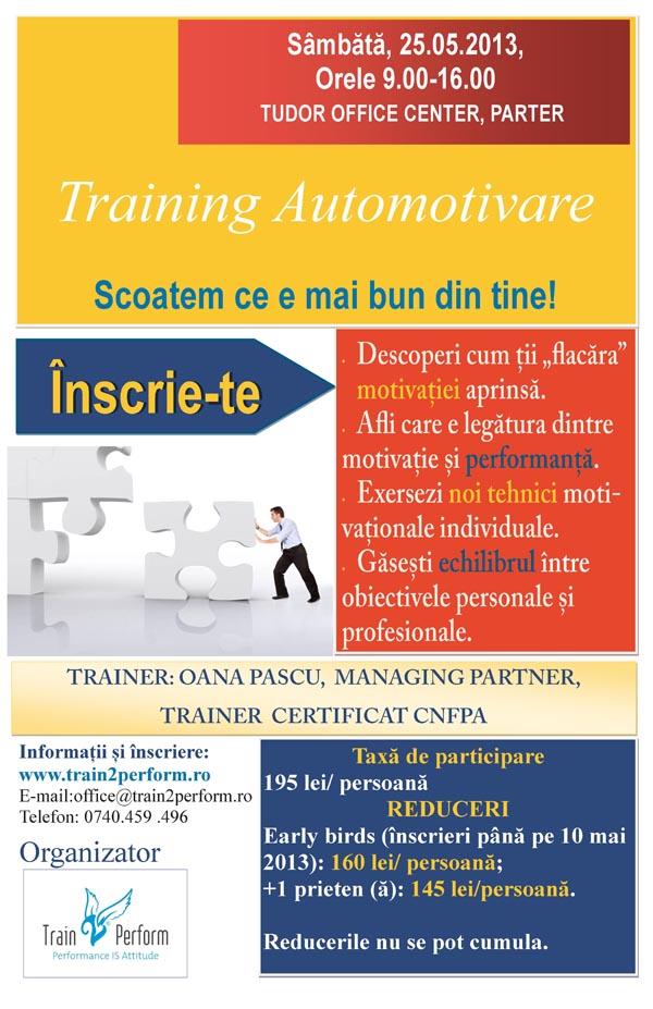 Training de automotivare