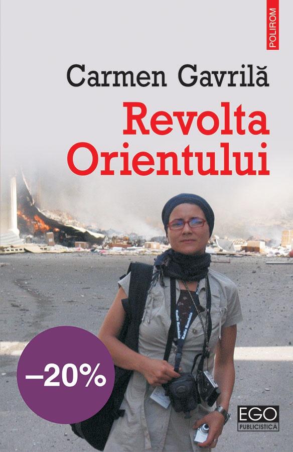 """""""Revolta Orientului"""", de Carmen Gavrilă/ Coperta"""