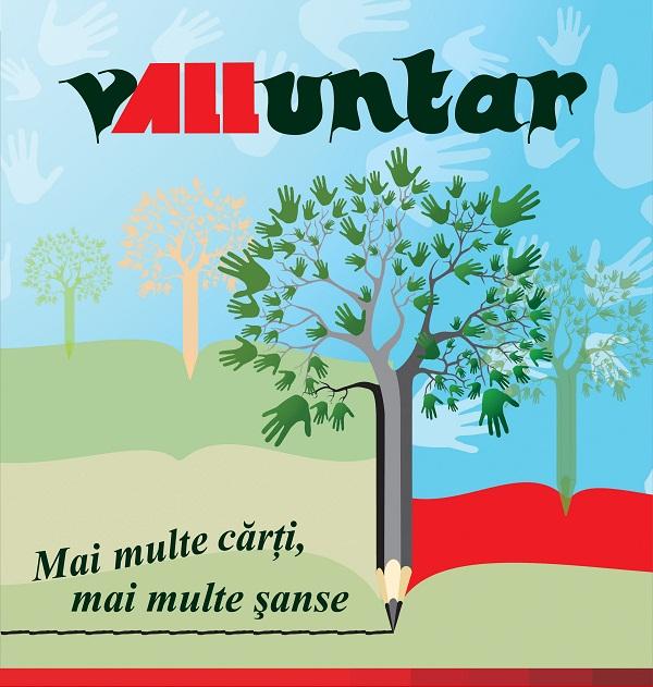 Campania vALLuntar este finalistă la Gala Industriei de Carte din România BUN DE TIPAR/ Afis Iasi