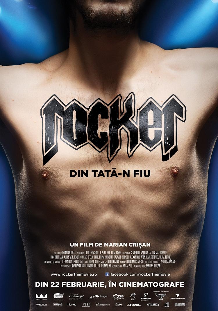 """Spectacolul de gală cu filmul """"ROCKER""""/ Afis Iasi/ Cinema Victoria"""