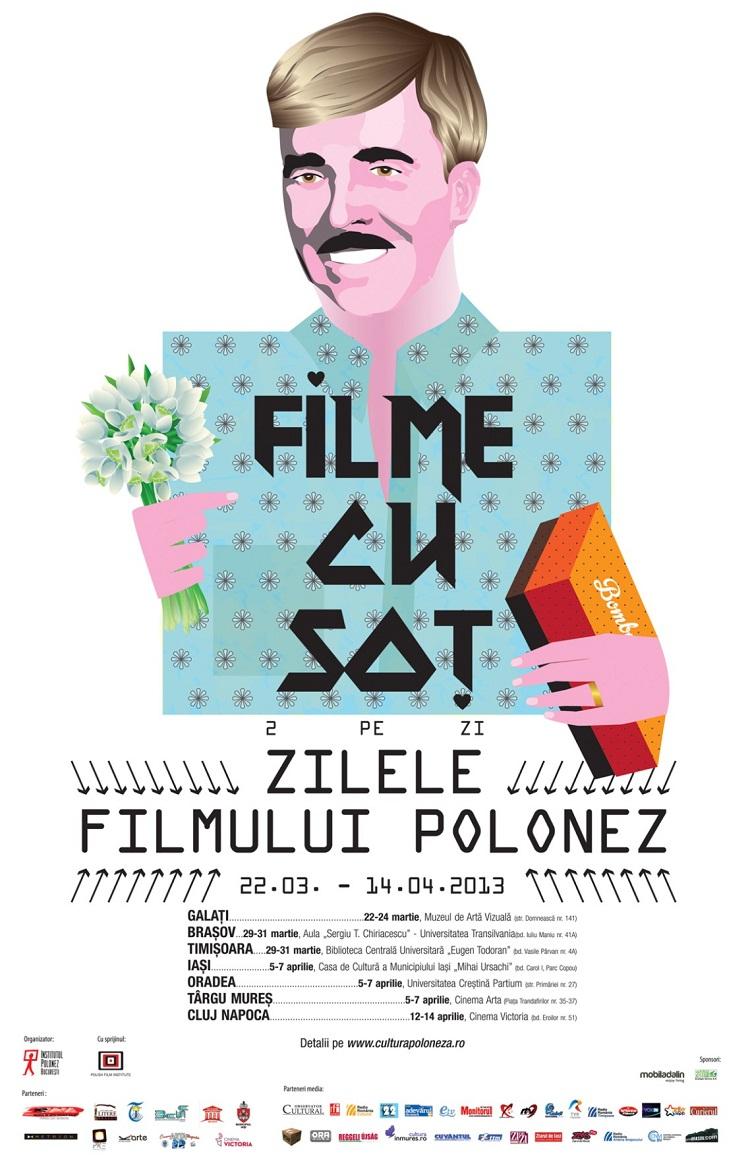 Zilele Filmului Polonez aduc la Iaşi şase proiecţii gratuite/ afis