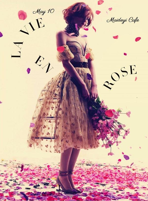 La vie en Rose/ Maideyi Cafe/ afis iasi