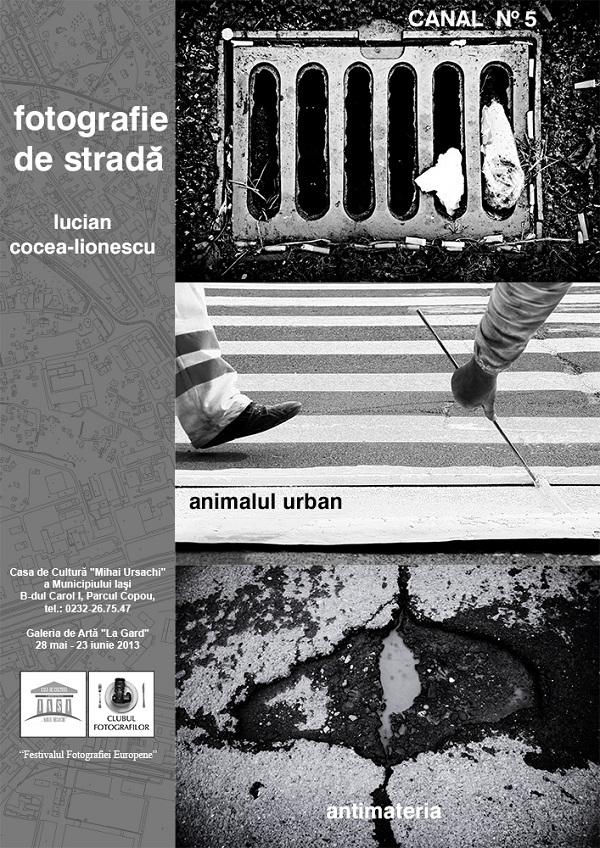 """""""Fotografie de stradă""""/ Galeria de Artă """"La Gard""""/ afis"""