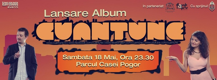 "Concert CUANTUNE - Lansare album ""I Jazz Wanna Be With You""/ Afis Iasi"