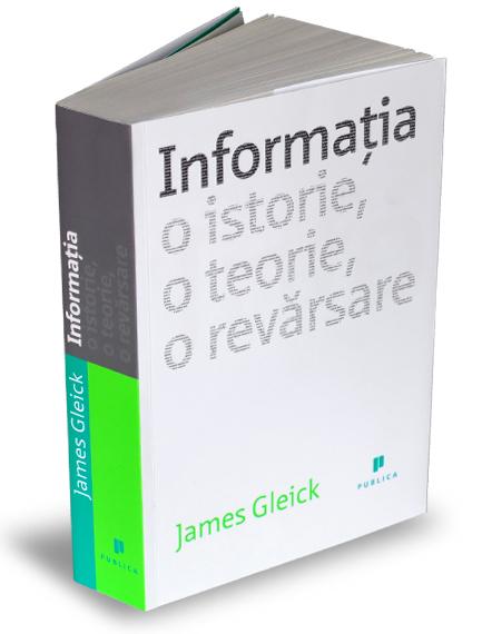 """""""Informația"""", cea mai bună carte de știință din 2012/ Coperta carte Publica"""